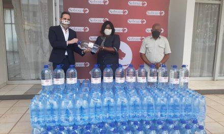 Gabon/Sobraga: Une nouvelle dotation en solution hydroalcoolique pour Franceville