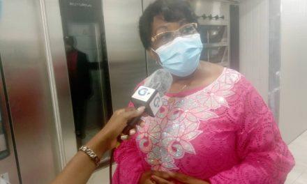 Gabon/Commune d'Owendo : Jeanne MBAGOU visite la nouvelle Boulangerie pâtisserie Blé Doré