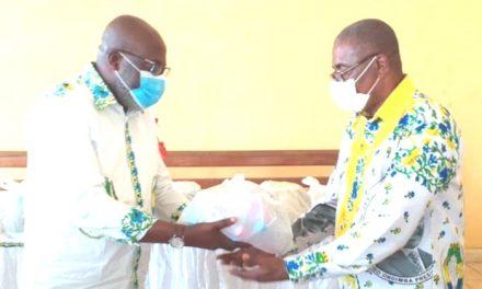 Gabon: Christian Abessolo Menguey fait un don des kits sanitaires aux fédérations PDG d'Oyem