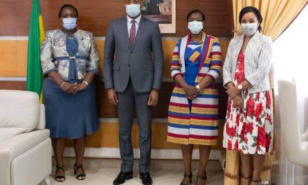 Gabon: Le Directeur Pays de l'ONUSIDA reçu par Dr. Guy Patrick Obiang; le projet Covid-VIH financé par Africa CDC parmi les points évoqués