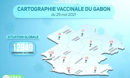 Gabon/Campagne de vaccination contre la Covid-19: Cap sur l'évolution de l'opération au mardi 25 mai 2021