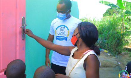 Gabon/Le Défi Citoyen : Madame Maroundou et ses 6 enfants bénéficient d'une maison neuve et du financement d'une activité génératrice de revenus