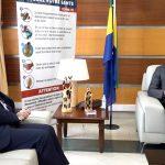 Gabon: Ilias Iskandarov Ambassadeur extraordinaire et plénipotentiaire de la Russie reçu par le ministre de la Santé Guy Patrick Obiang