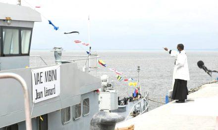 Coopération Sino-gabonaise: La Chine offre un navire militaire à la Marine nationale et réaffirme son soutien et son accompagnement constant et multiforme