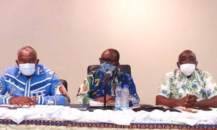 2ème arrondissement de la commune de Libreville : Séances fédérales d'études politiques