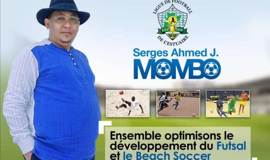 Gabon/Football-Estuaire: Serges Ahmed Mombo Sera Candidat à sa propre succession