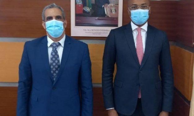 Coopération/Gabon-Banque arabe pour le développement économique en Afrique: Mohamed Lemine Raghani, Chef de la mission reçu par le ministre de la Santé