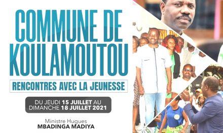 Gabon: Le Ministre Hugues Madiya rencontre la jeunesse Kouloise du 15 au 18 juillet prochain