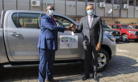 Gabon/Lutte contre la Covid-19: Le ministère de la santé se dote de dix véhicules 4×4