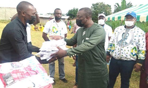 Gabon/Oyem:Dr Christel Abessolo donne le coup d'envoi de la Coupe de la Solidarité