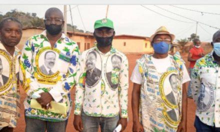 Nyanga/Activités politiques : Jean Gilbert Ibinga devise avec  les responsables des organes de base de la Fédération Dougheny